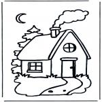 Coloriages pour enfants - Maison d'enfant
