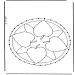 Bricolage cartes de broder - Mandala 27