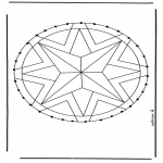 Bricolage cartes de broder - Mandala 28