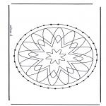 Bricolage cartes de broder - Mandala 29