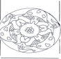 Mandala champignon 2