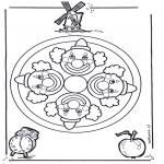 Mandala - mandala clown