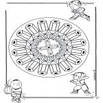 Mandala - Mandala crayons