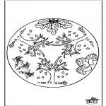 Mandala - Mandala de Automne 1