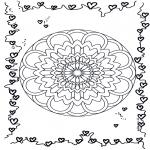 Mandala - Mandala de coeur 3