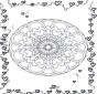 Mandala de coeur 3
