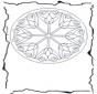 Mandala de fleurs 3