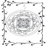 Mandala - Mandala de fleurs 5