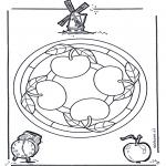 Mandala - Mandala de pommes