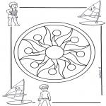 Mandala - Mandala d'enfant 1