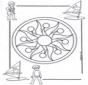 Mandala d'enfant 1