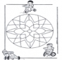 Mandala d'enfant 10