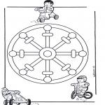 Mandala - Mandala d'enfant 11
