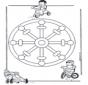 Mandala d'enfant 11
