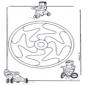 Mandala d'enfant 12