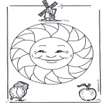 Mandala - Mandala d'enfant 15