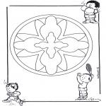 Mandala - Mandala d'enfant 16