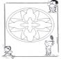 Mandala d'enfant 16