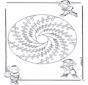 Mandala d'enfant 18