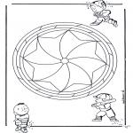 Mandala - Mandala d'enfant 19