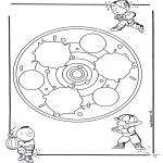 Mandala - Mandala d'enfant 24