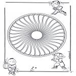 Mandala - Mandala d'enfant 26