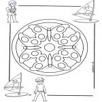 Mandala - Mandala d'enfant 4