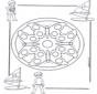 Mandala d'enfant 4