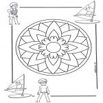 Mandala - Mandala d'enfant 5