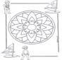 Mandala d'enfant 5