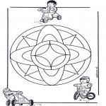 Mandala - Mandala d'enfant 7