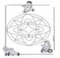 Mandala d'enfant 7