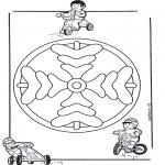 Mandala - Mandala d'enfant 8