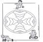 Mandala d'enfant 8