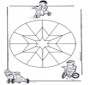 Mandala d'enfant 9