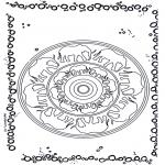 Mandala - Mandala éléphant 1