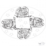 Mandala - Mandala Enfant Jésus