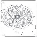 Mandala - Mandala - étoiles 1