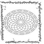 Mandala - Mandala geométrique 1