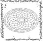 Mandala geométrique 1