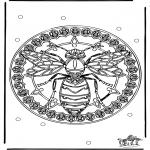 Mandala - Mandala guêpe
