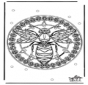 Mandala guêpe