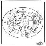 Mandala - Mandala - La Vache