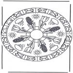 Mandala - Mandala 'printemps'