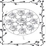 Mandala - Mandala - rose 2