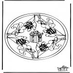 Mandala - Mandala souris 2