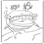 Coloriages pour enfants - Marlin et Dory