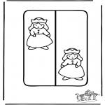 Bricolage coloriages - Marque-page princesse