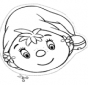 Masque de petit elfe