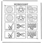 Bricolage coloriages - Memory 1